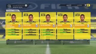 TREINO INFINITO NO MODO CARREIRA FIFA 17 !!!