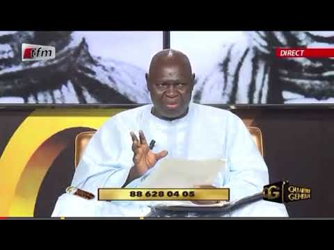 Décès du conférencier Ndiaga Diop