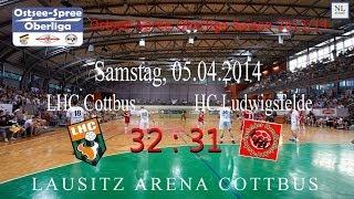 LHC Cottbus vs. HC Ludwigsfelde 32 : 31