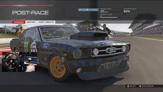 forza 5 can i still slide 750 hp 1965 ford mustang gymkhana 7 w wheel cam
