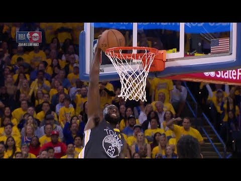 Draymond Green Blows Wide Open Dunk - Game 4 | Rockets vs Warriors | 2018 NBA West Finals