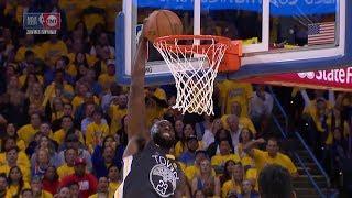 Draymond Green Blows Wide Open Dunk - Game 4 | Rockets vs Warriors | 2018 NBA West Finals
