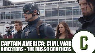 Captain America: Civil War Directors - Joe And Anthony Russo In Studio Interview