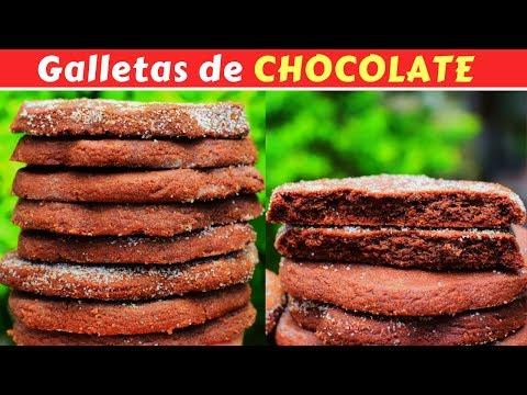 GALLETAS CRUJIENTES De CHOCOLATE! Dulce Hogar Recetas