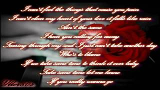 Cinderella - Don't Know What You Got (Till It's Gone) With Lyrics