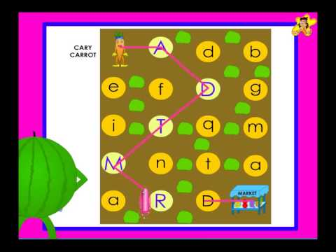 Recognition Of Upper Case (capital Letters) - Kindergarten Worksheet  Activity - YouTube