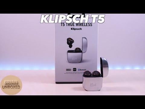 Klipsch T5 True Wireless Earbuds - Is it worth $200? (Music & Mic Samples)