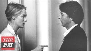 "Meryl Streep Recalls Dustin Hoffman's 'Kramer vs. Kramer' Slap: ""It Was Overstepping"" | THR News"