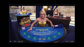 Live Online Blackjack #1 - 10 min of High Stakes Play...