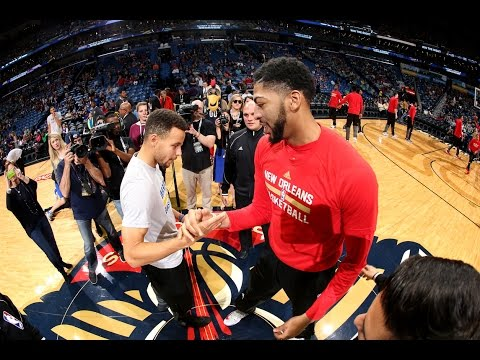 Steph Curry and Anthony Davis Duel in NOLA | 12.13.16
