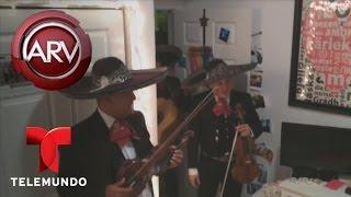 Edgardo del Villar le lleva una serenata a su hija | Al Rojo Vivo | Telemundo