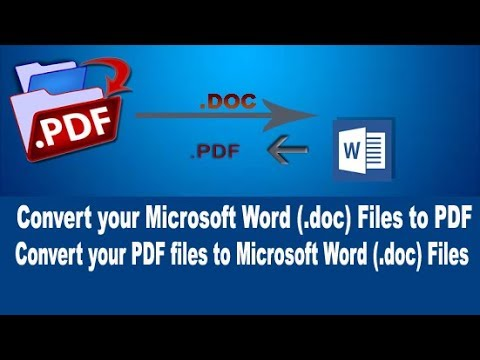 How To Convert PDF to Microsoft Word(.doc) without software