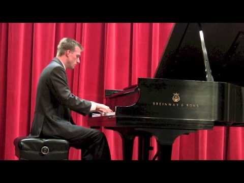 Travis Solesbee Playing Sergei Prokofiev, Sonata No. 3 in A minor, Opus 28_