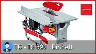 Einhell TC-TS 820 Sega Circolare da Banco [Assemblaggio]