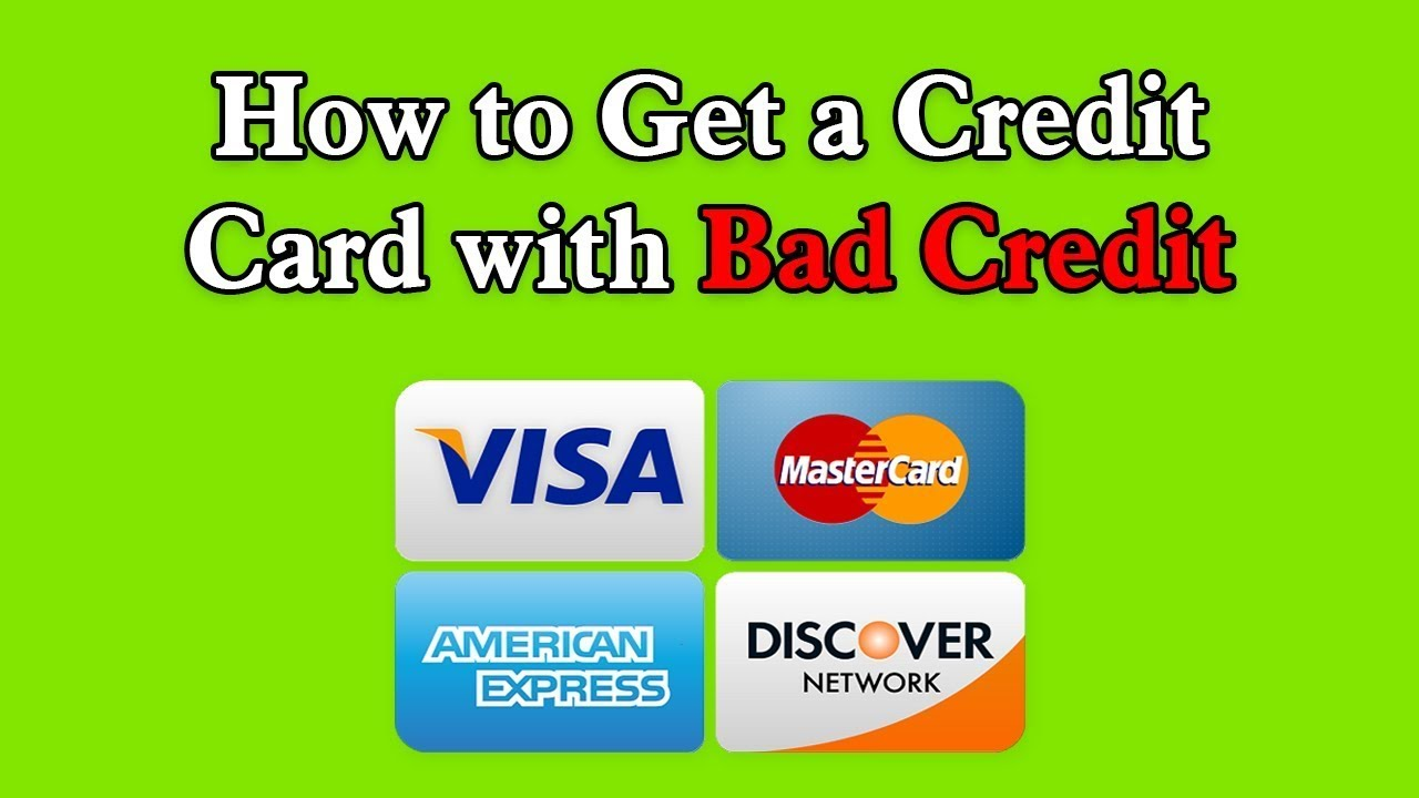 How to apply for credit card with bad credit