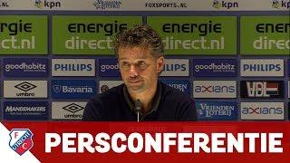 PERSCONFERENTIE   PSV - FC Utrecht