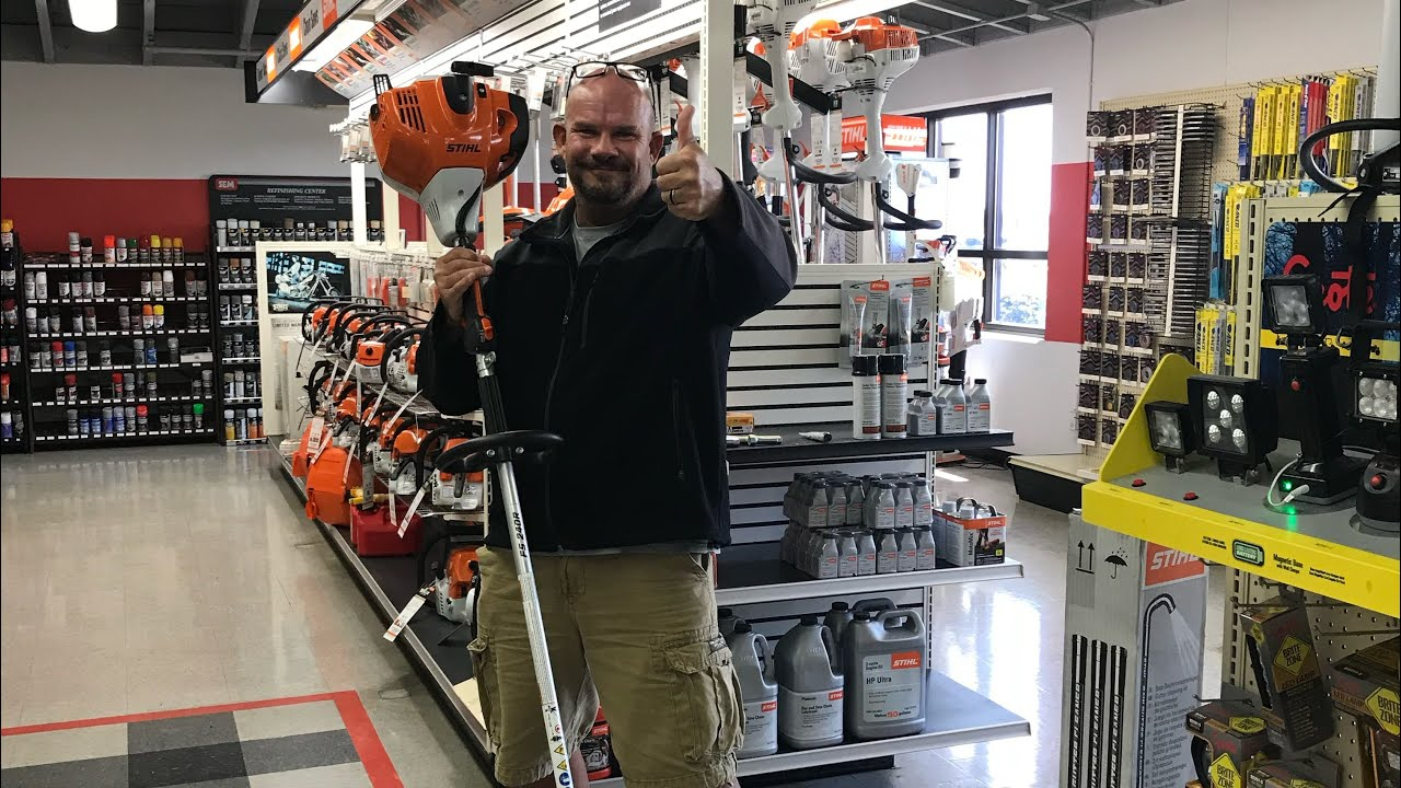 Review on Stihl FS 90 Trimmer