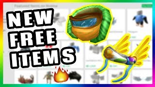 LEAKED!! NEW FREE ITEM ON ROBLOX!! ROBLOX PROMO CODES 2019