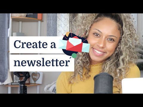 How to create a newsletter in 30 minutes