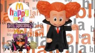 Щаслива іграшка Готель Трансільванія 2 Макдональдс їжу # 6: Денис, онук Дракули 2015
