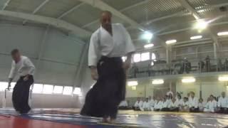 Foglietta Roberto Sensei - Aikido Demonstration - Pskov Seminar 2016