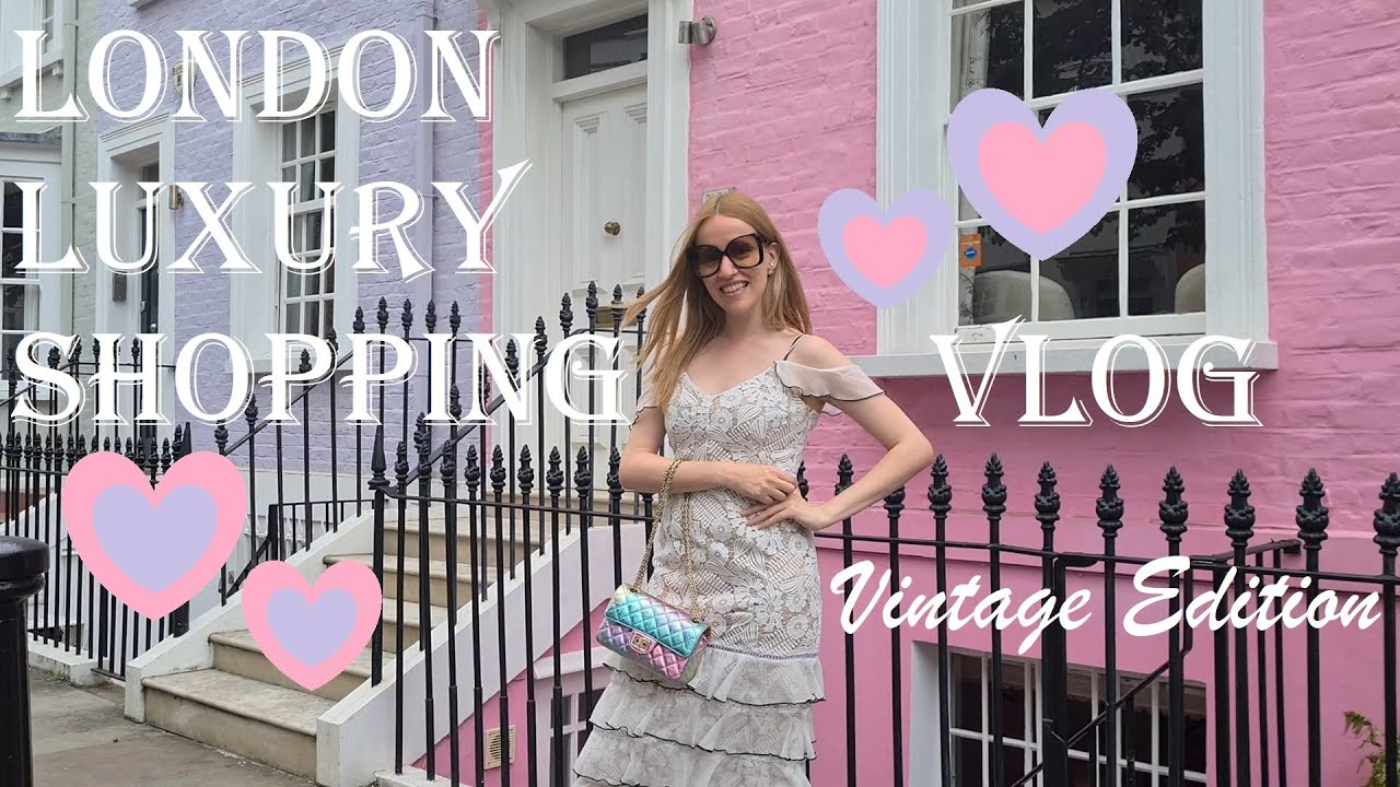 LONDON LUXURY SHOPPING VLOG 2020 - Come Shopping With Me at Harrods, Dior, Chanel & Louis Vuitton LV