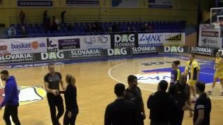 YOUNG ANGELS Košice - BK Slovan Bratislava
