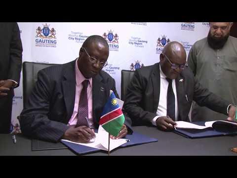 Namibia:Gauteng MOU