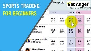 How to: Betfair trading - Introduction by Peter Webb - Bet Angel