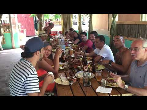 Lunchtime ( boat trip to Inhaca island)
