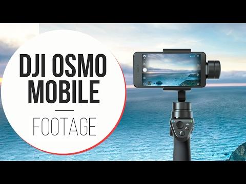 DJI Osmo Mobile - Clip video con iPhone 7
