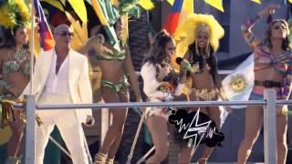 Repeat youtube video Pitbull, Jennifer Lopez e Claudia Leitte   We Are One Ole Ola