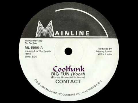 """Contact - Big Fun (12"""" Funk 1982)"""