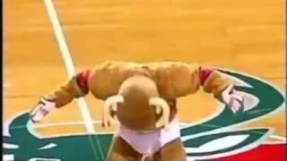 Hilarious NBA Mascot Moments!