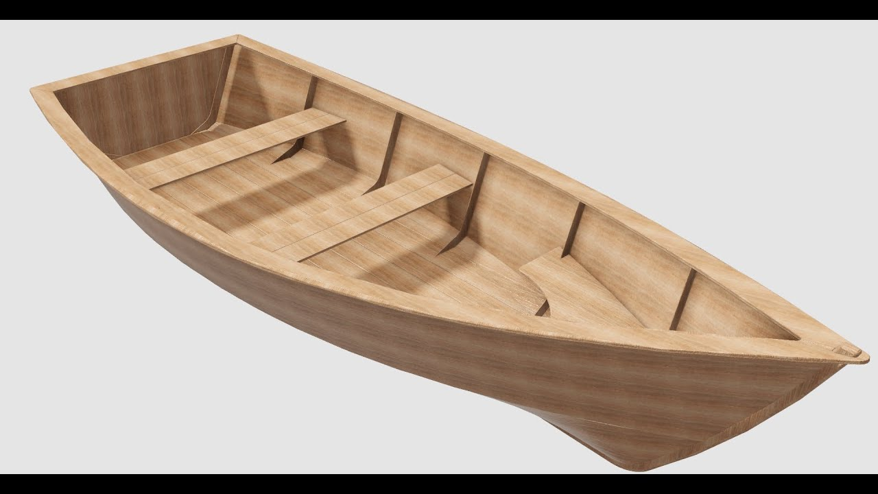Autodesk inventor part i design of a small boat youtube malvernweather Choice Image