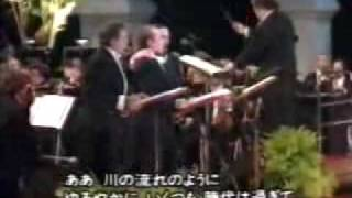 The Three Tenors - Kawa No Nagare No Yoni-川の流れのように (Tokio 1996)