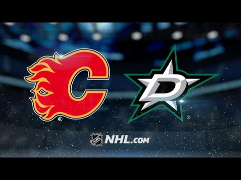 Bishop, Stars shut out the Flames, 2-0