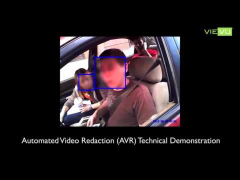Automated Video Redaction (AVR)