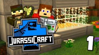 Jurassic Craft 2 | PRVNÍ STROJE! | #1 w/Ixajr [Porty]