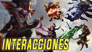 Kled | Interacciones a campeones y objetos (Latino) [League of Legends]
