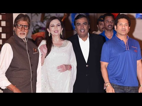 Ambani's Grand Party For Mumbai Indians Victory IPL 2017 | Amitabh Bachchan, Sachin Tendulkar
