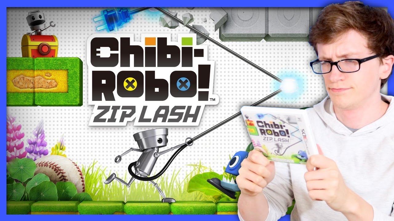 Chibi-Robo! Zip Lash | The Darkest Age of Nintendo - Scott The Woz