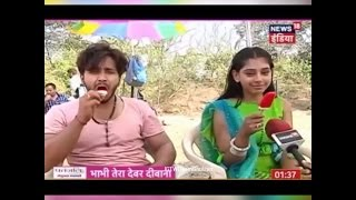 Niti taylor - Param Singh Chilling Offscreen - Ghulaam Life OK Updates | SUBSCRIBE MUST