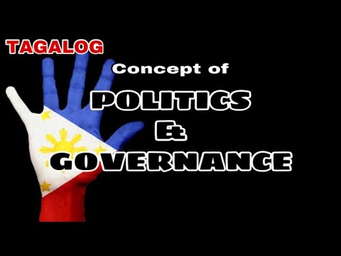 Concepts of Politics and Governance ( Philippine Politics and Governance ) K to 12 Subject