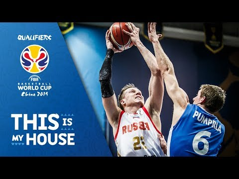 Russia V Czech Republic - Full Game - FIBA Basketball World Cup 2019 - European Qualifiers