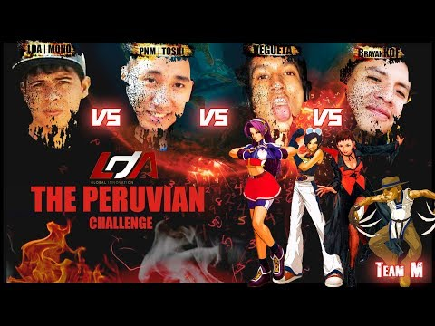 The Peruvian Challenge KOF 2002 FT30+RM: PJ    Toshi vs. LDA    Mono