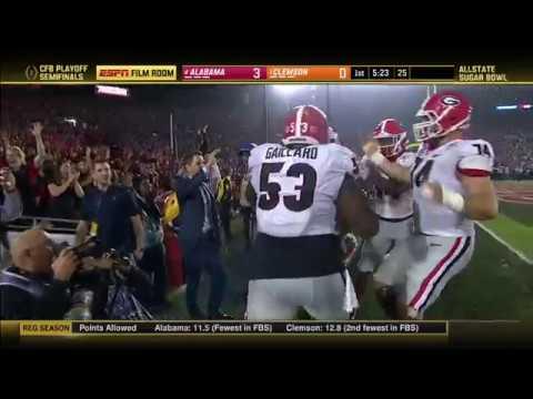 2017-18 Sugar Bowl (Coaches Film Room) - #4 Alabama vs. #1 Clemson (HD)