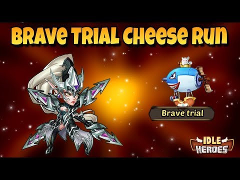 Idle Heroes (O) - How To Brave Trial Cheese (easy) Method