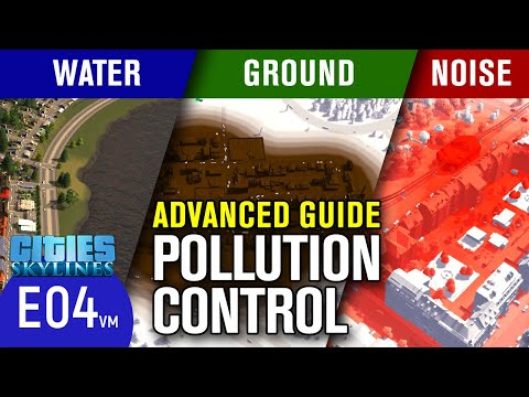 Advanced Guide on Pollution Control in Cities Skylines | Fisher Enclave Episode 4