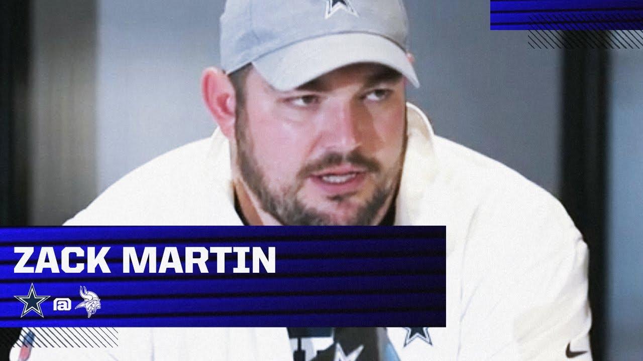 Zack Martin: I Knew This Whole Week Of Preparation | Dallas Cowboys 2020